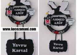 Keçe Beşiktaş Kapı Süsü(Ahmed Arif)