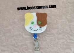 Keçe Kedi Yoyo(Yaka kartı)