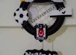 Beşiktaş Taraftar Keçe Kapı Süsü