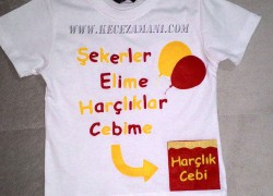 Keçe Galatasaraylı Bayram Tişörtü