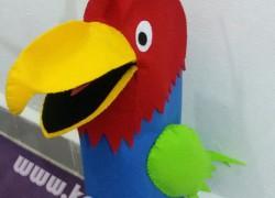 Keçe Kukla Papağan