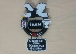 Keçe Beşiktaş Kapı Süsü(İrem)