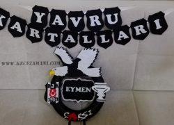 Keçe Beşiktaş Kapı Süsü(Eymen)