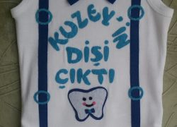 Keçe İşlemeli Diş Badisi(Kuzey)