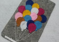 Keçe Balon Telefon Kılıfı