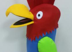 Keçe Büyük Papağan Kukla