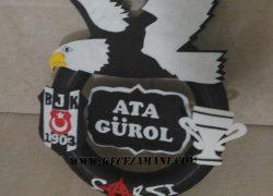 Keçe Beşiktaş Kapı Süsü(Ata Gürol)