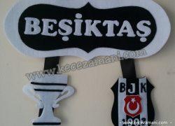 Keçe Beşiktaş Kapı Süsü(Can)