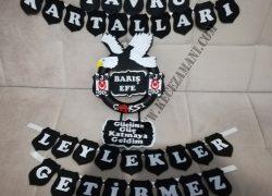 Keçe Beşiktaş Kapı Süsü(Barış Efe)