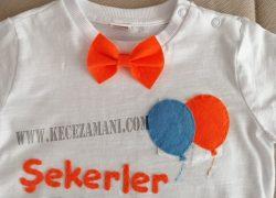 Renkli Keçe Bayram Tişörtü