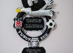 Keçe Beşiktaş Kabartmalı Kapı Süsü(yusuf ege)