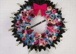 Çiçek Kapı Süsü