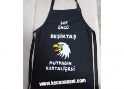 Keçe Kartal Beşiktaş Önlük(mutfağın kartaliçesi)