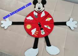 Mickie Mouse Hava Durumu Panosu