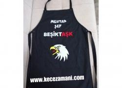 Keçe İşlemeli Beşiktaş Mutfak Önlüğü(Mehtap Şef)