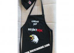 Beşiktaş Keçe İşlemeli Mutfak Önlüğü nlüğü (Emrah Şef )