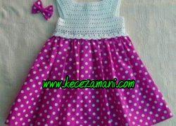 Pembe Yazlık Çocuk Elbise