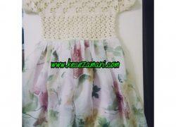 Yazlık Elbise Beyaz