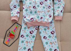 Pazen Baykuş Pijama Takımı